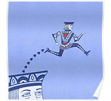 Jumping Jack Escape Velocity Poster