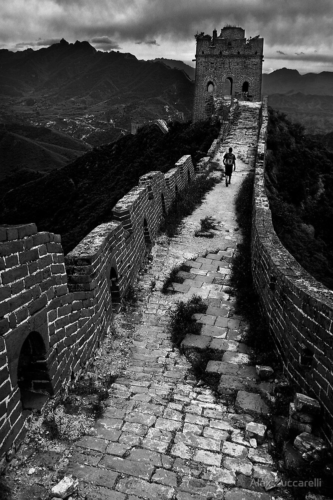 Great Wall Solitude - Miyun, China by Alex Zuccarelli