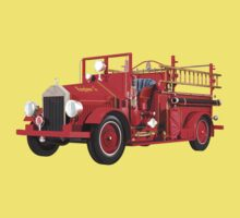 Antique Fire Engine Kids Clothes