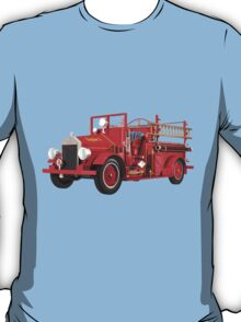 Antique Fire Engine T-Shirt