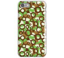 "Arrangement No. 12.4 - ""Forest Stealth"" color scheme iPhone Case/Skin"