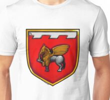 Dagger and Gryphon Coat of Arms Unisex T-Shirt