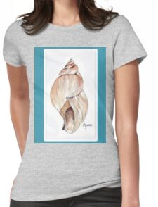 Beach house style 2 Womens Fitted T-Shirt