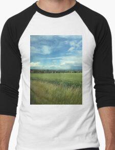 Travel the German Countryside Men's Baseball ¾ T-Shirt
