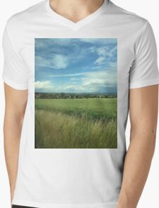 Travel the German Countryside Mens V-Neck T-Shirt