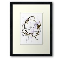 A Phoenix's Circle Framed Print