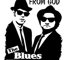 The Blues Brothers - On A Mission From God  by gueguette
