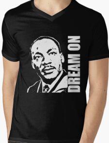 MLK-4 Mens V-Neck T-Shirt