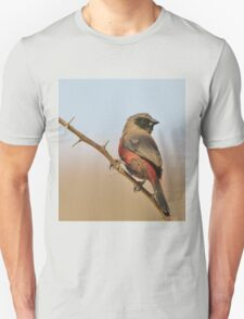 Blackcheeked Waxbill - Finding Thorny Solitude Unisex T-Shirt