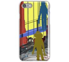 San Francisco Rocks Horizontal Panel iPhone Case/Skin