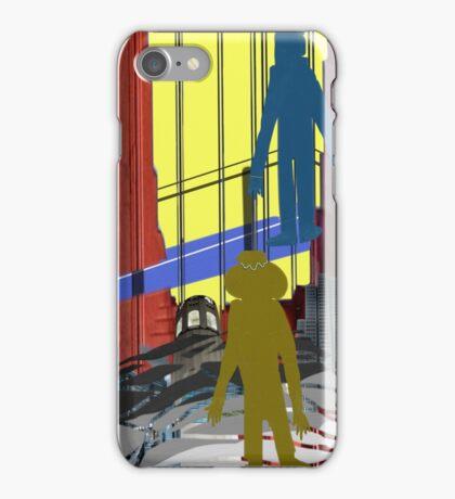 San Francisco Rocks Horizontal Panel iPhone Case/Skin