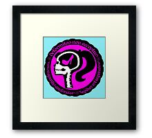 Conformity is Expression Framed Print