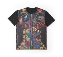 Happy 50th! Voyager+DS9 Graphic T-Shirt