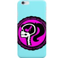 Conformity is Expression iPhone Case/Skin