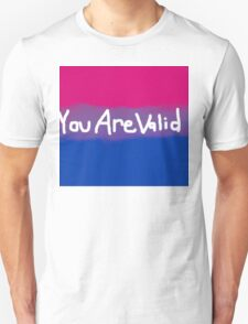 Valid Bisexuality Unisex T-Shirt