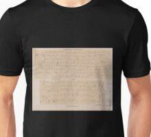 0182 Demotische Inschriften No 5 Ost Silsilis Felseninschriften Unisex T-Shirt