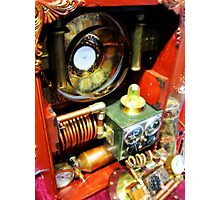 Steampunk Backpack 3.0 Photographic Print