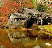 Mabry Mill by rebholzdesigns