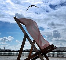 The Struggle of the Lonely Deckchair by JLaverty