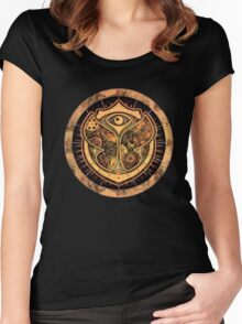 tomorrowland Women's Fitted Scoop T-Shirt