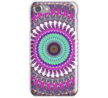 Colorful Mandala of Symmetry iPhone Case/Skin