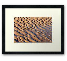 Sandy Forms Framed Print