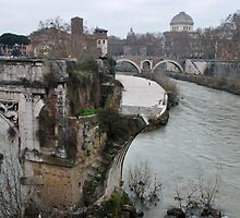 Pons Aemilius, the Oldest Bridge by Alessandro Pinto
