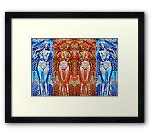 Body Language 15 Framed Print