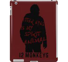 Otter eyes - 12 monkeys (red) iPad Case/Skin