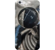 1964 Shelby Cobra: shifter detail iPhone Case/Skin