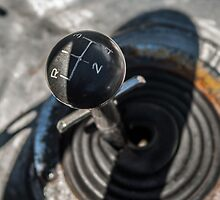 1964 Shelby Cobra: shifter detail by MuethBooth