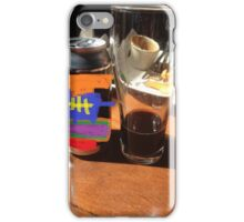 Lunch at the pub iPhone Case/Skin