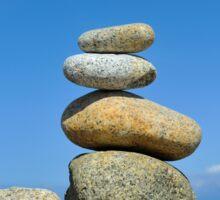 Zen Stones Sticker