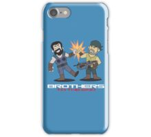 Gears of War brother to the end iPhone Case/Skin