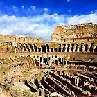 Roman Coliseum  by Barbara  Brown