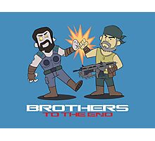 Gears of War brother to the end Photographic Print
