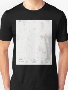 USGS TOPO Map Arizona AZ Antelope Hills 20111108 TM Unisex T-Shirt