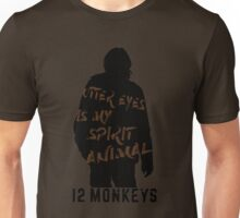 Otter eyes - 12 monkeys (brown) Unisex T-Shirt