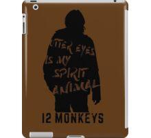 Otter eyes - 12 monkeys (brown) iPad Case/Skin