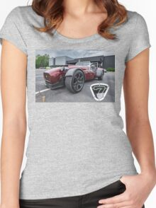 Lotus 7 Re-Do Women's Fitted Scoop T-Shirt