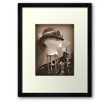 Steampunk Display 1.0 Framed Print