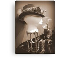 Steampunk Display 1.0 Canvas Print