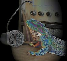 Bearded dragon rock music by Holycraposaurus