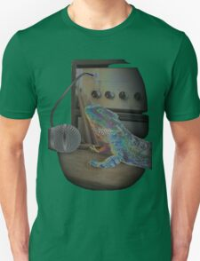 Bearded dragon rock music Unisex T-Shirt