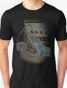 Bearded dragon rock music T-Shirt