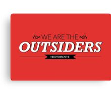 The Outsiders Canvas Print