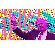 Funky Trump Photographic Print