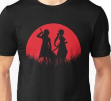 Kirito Leafa Red Moon Unisex T-Shirt