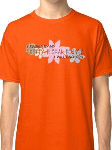 Pretty Floral Bonnet Classic T-Shirt