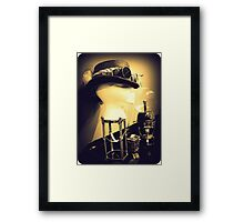 Steampunk Display 1.2 Framed Print